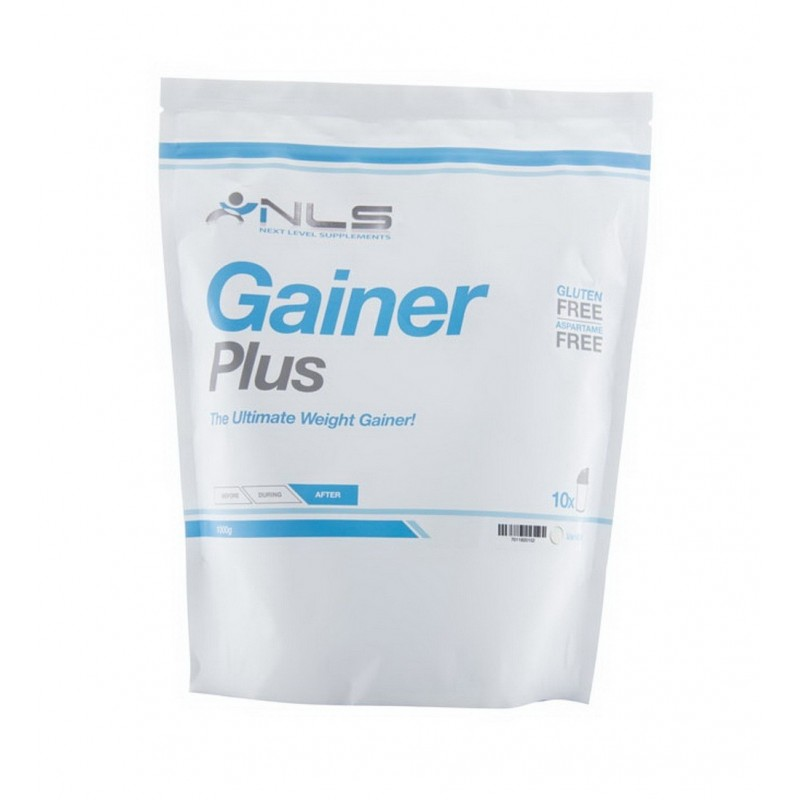 GAINER PLUS BAG 1kg CHOCOLATE (NLS)