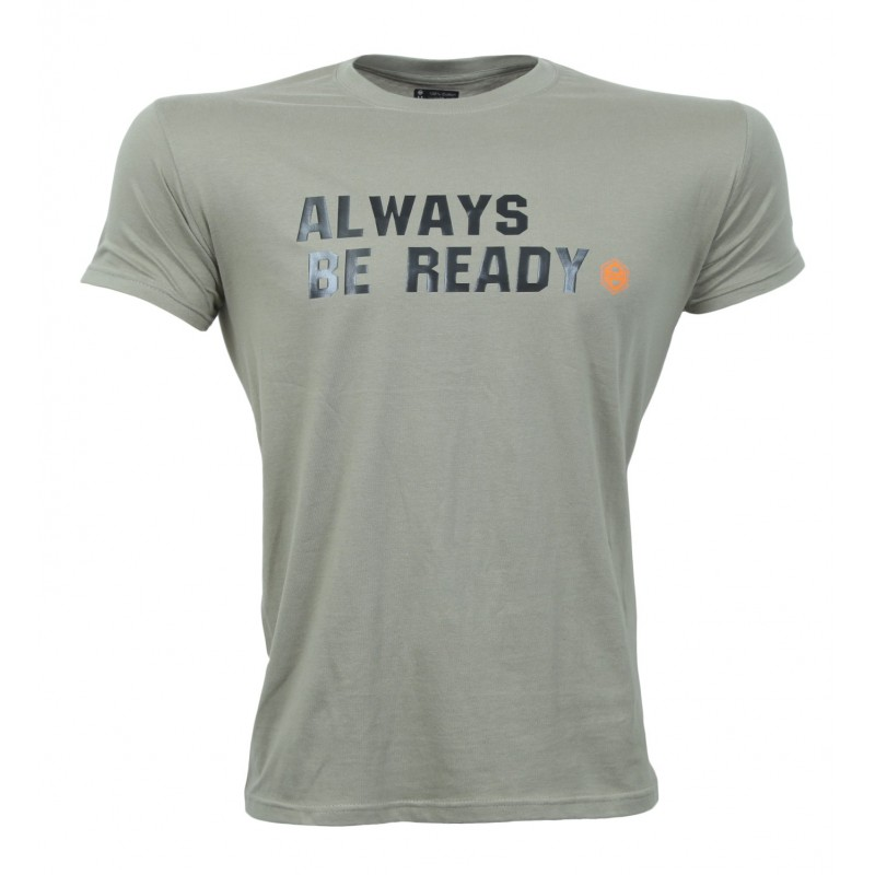 T-SHIRT ALWAYS BE READY 1102-14 (H&S)