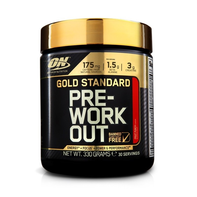 GOLD STANDARD PRE WORKOUT 330gr (ON)