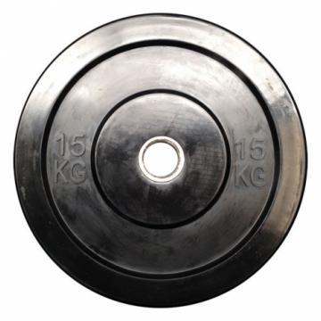 ΔΙΣΚΟΣ BUMPER 15kg CROSSFIT Φ50 ΟΛΥΜΠΙΑΚΟΥ ΤΥΠΟΥ 008 (MDS)