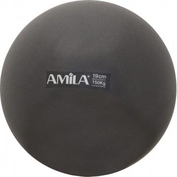ΜΠΑΛΑ PILATES 19cm 95802 ΜΑΥΡΗ (AMILA)