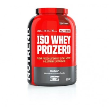 ISO WHEY PROZERO 2250gr CHOCOLATE BROWNIES (NUTREND)