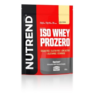 ISO WHEY PROZERO 500gr CHOCOLATE BROWNIES (NUTREND)