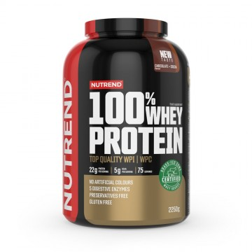 100% WHEY PROTEIN GFC 2250gr CHOCOLATE BROWNIES (NUTREND)