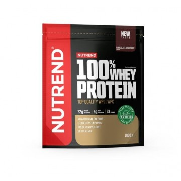 100% WHEY PROTEIN GFC 1000gr CHOCOLATE BROWNIES (NUTREND)